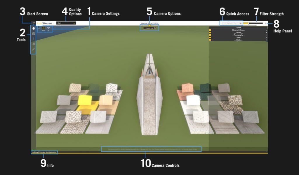 LUX Walker Desktop Mode