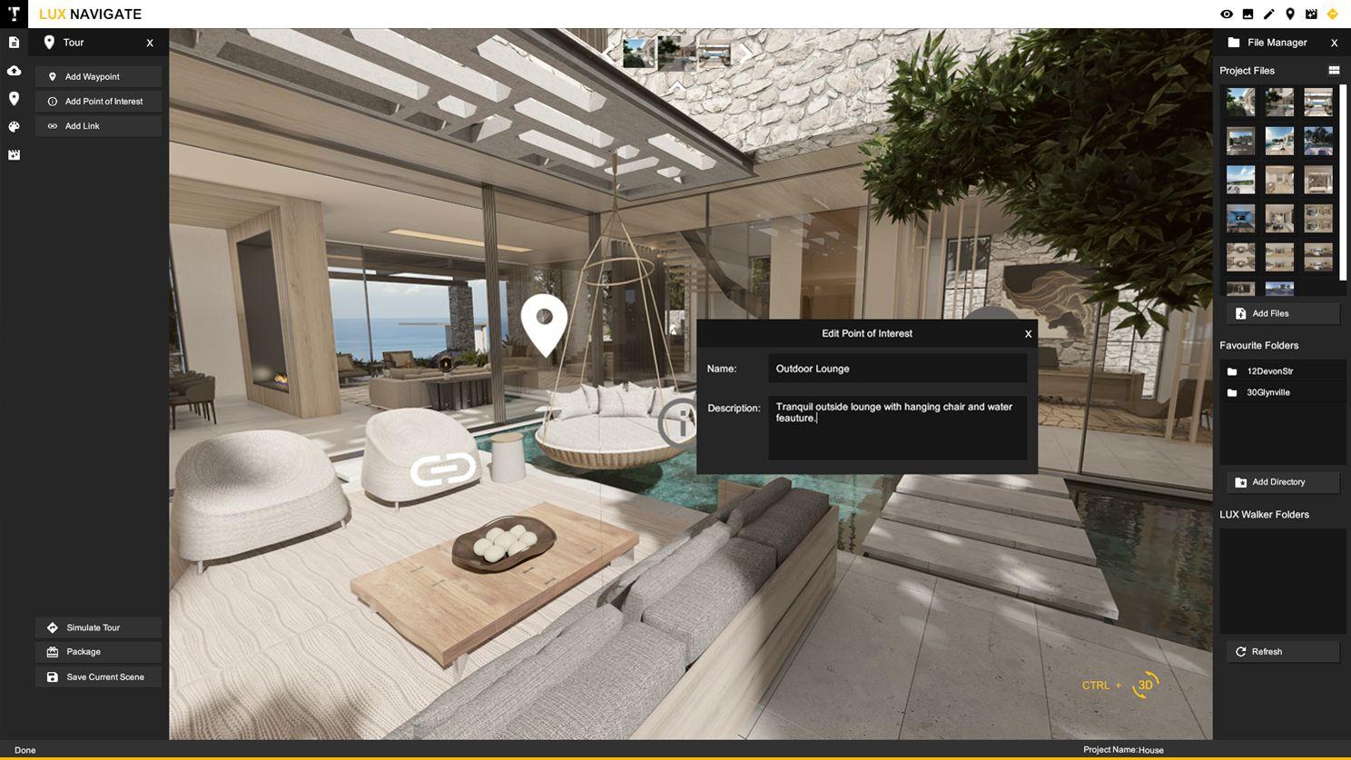 LUX Navigate 360 Content