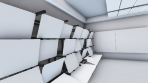 Display design space in 3D