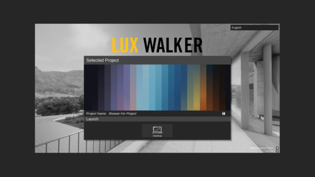 LUX Walker Desktop Mode